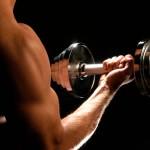При усиленном наборе мышечной массы